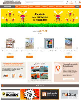 Nuevo proyecto web Optimus para los socios