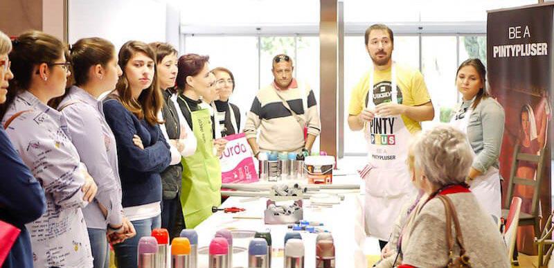 Optimus y Novasol Spray organizan talleres creativos de pintura