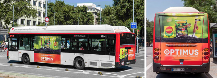 Optimus lanza la primera campaña compartida con proveedores en Barcelona y Andorra