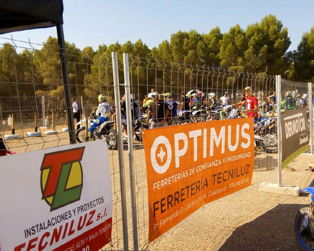 Ferretería Tecniluz, patrocinadora del Campeonato de España de Motocross