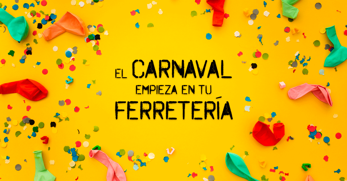 ¡Prepárate para Carnaval!