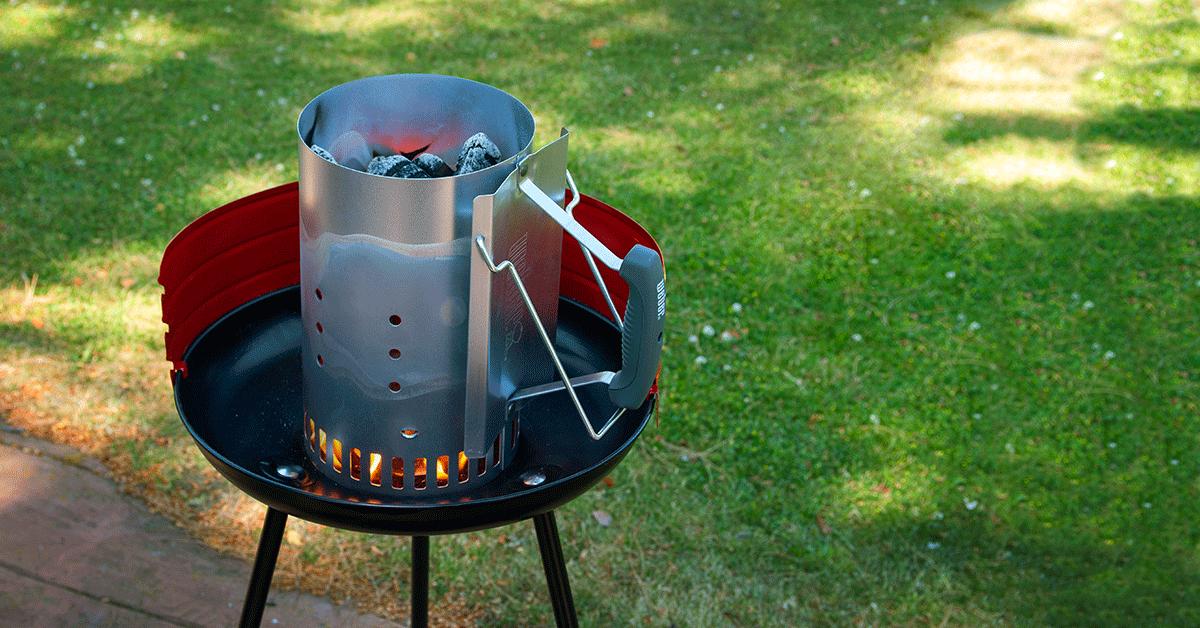 ¿Sabes cómo encender la barbacoa súper rápido?