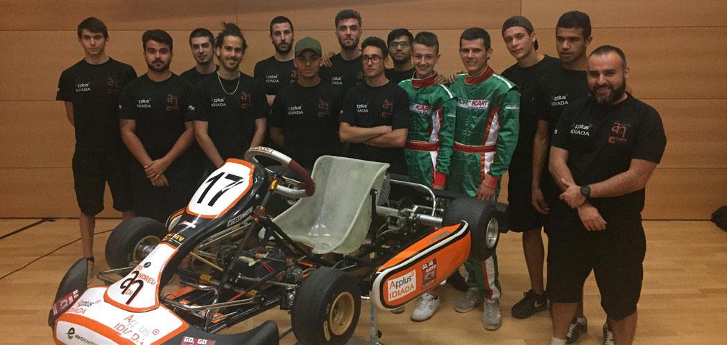 Ferretería Jaume colabora con los alumnos del instituto Andreu Nin para la construcción de un kart eléctrico