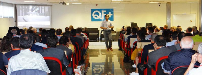 Optimus colabora en las IV Jornadas de Formación Empresarial de la Fundación Txema Elorza