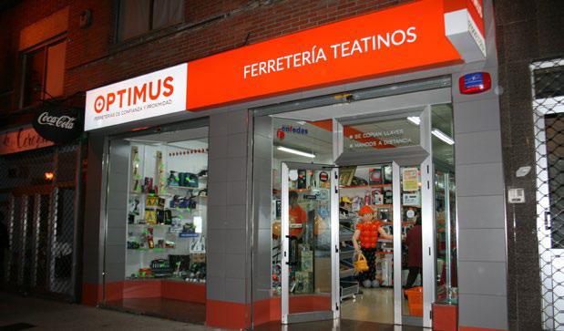 Nueva tienda Optimus en Oviedo