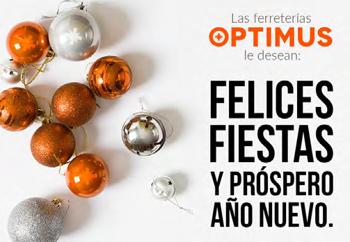 ¡Optimus te desea un próspero año nuevo!