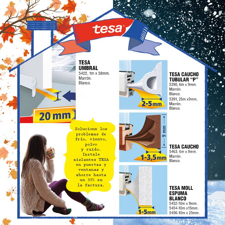 Aísla tu casa del frío y el ruido.