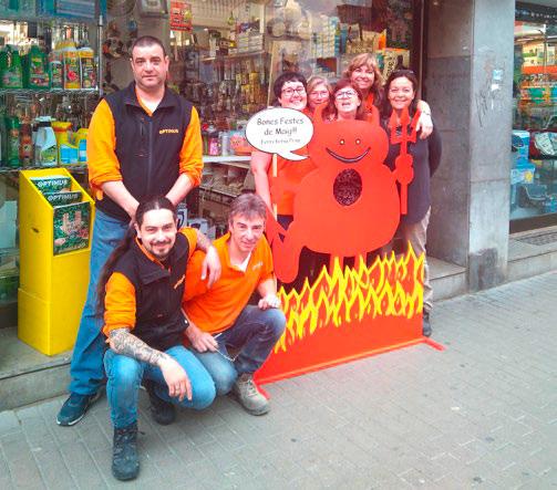 Ferretería Prim participa en las Fiestas de Mayo de Badalona