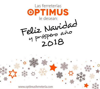 ¡Optimus te desea Felices Fiestas!