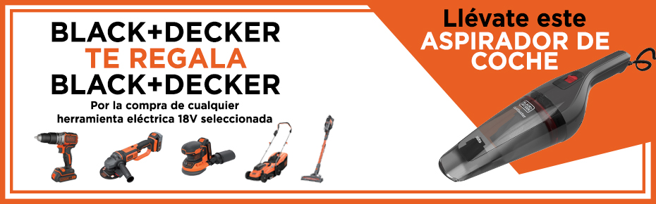 Black+Decker et regala un aspirador!