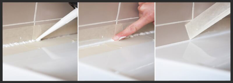 Como aplicar correctamente la silicona