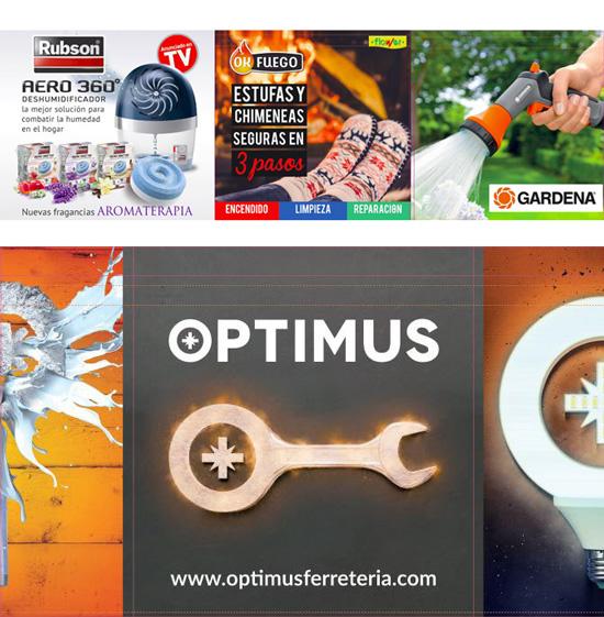 Nueva campaña con proveedores en los establecimientos Optimus de QFPlus