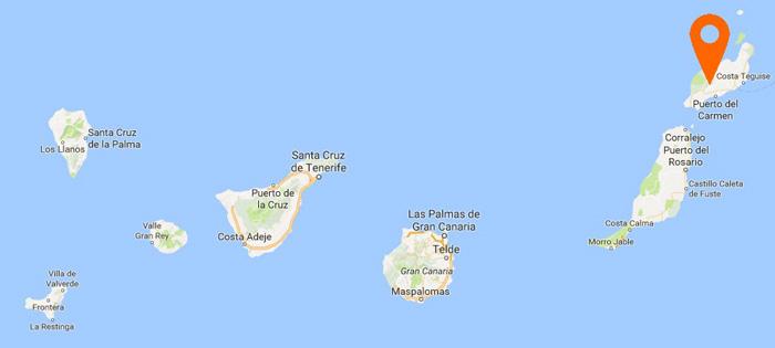 Optimus desembarca a Canàries
