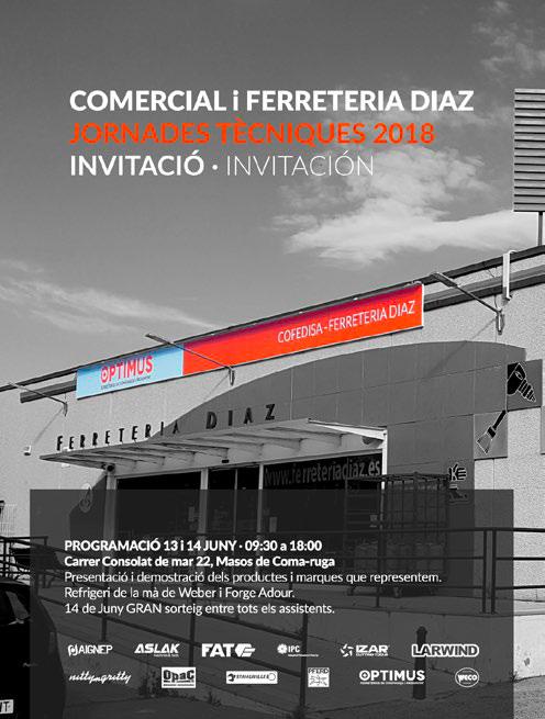 Ferretería Díaz organiza sus primeras jornadas técnicas