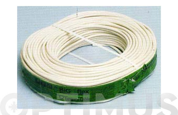 Cable manguera red h05vv-f cpr blanco 2 x 1