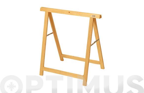 Caballete de pino standard 73,5x74x37