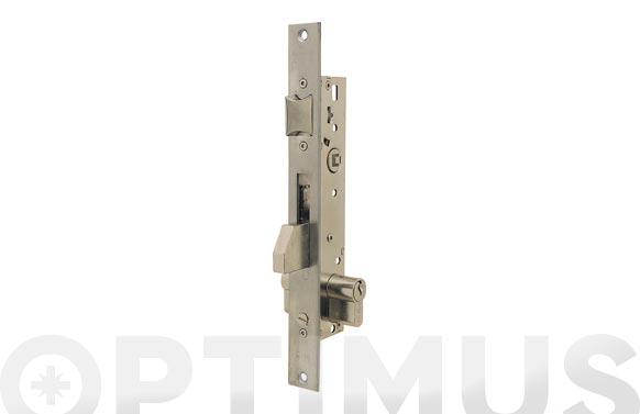 Cerradura puerta metalica serie 2210 2210-20 mm inox