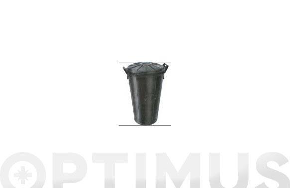 Cubo comunal goma sin tapa con cierres n. 7- 90 l