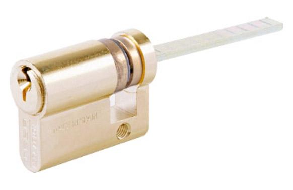 Cilindro te5 niquel llave serreta 30-30 leva corta