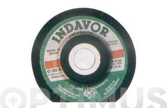 Disco carb.c/piedr.c30 indavor 115x3x22 s/d