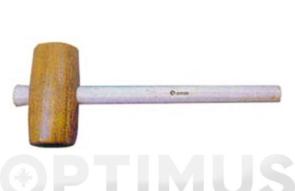 Maza carpintero con mango arnau 70 x 140 mm