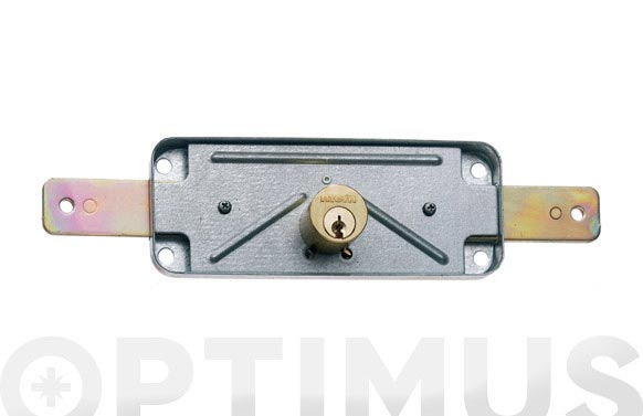Cerradura sobreponer puerta metalica 1511v cincado