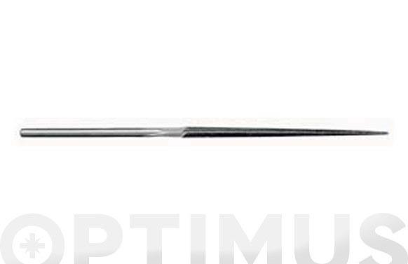 Lima triangular aguja 16 cm fina