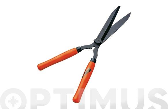 Tijera cortasetos mango madera profesional corte 52 cm