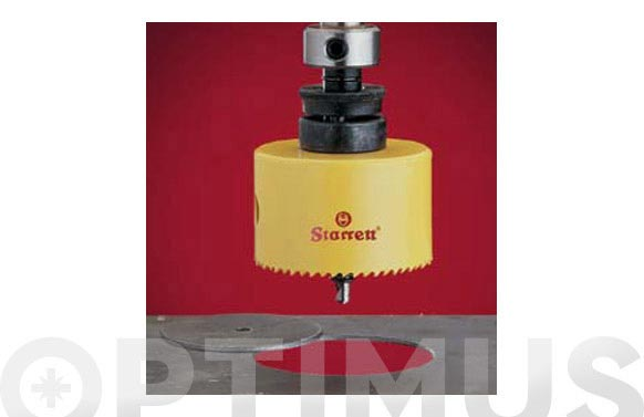 Corona perforacion bimetal 35 mm