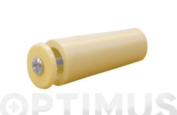 Tope persiana 55 mm (25 uni) marfil