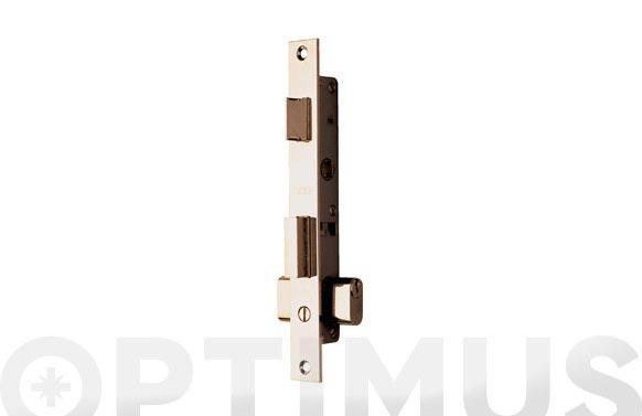 Cerradura puerta metalica serie 2220 2220-11.5 mm niquelada