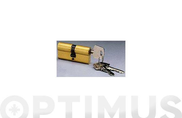 Cilindro e laton llave serreta 35-35 llaves iguales