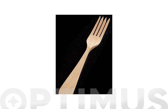 Tenedor mesa madera (blister) f 30 b