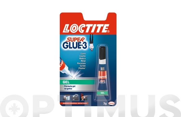 Adhesivo instantaneo super glue-3 3g-gel