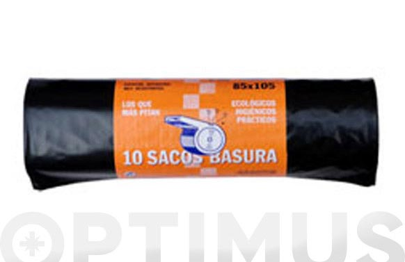 Saco basura el pito 120l (10u) 85x105 g-200