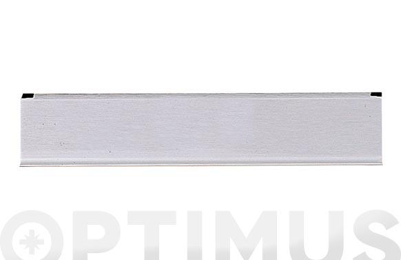 Bocacartas aluminio color plata