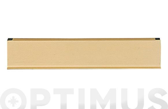 Boca-cartas aluminio pint.oro - 2
