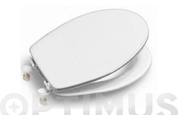 Tapa wc magnum bisagra plastico