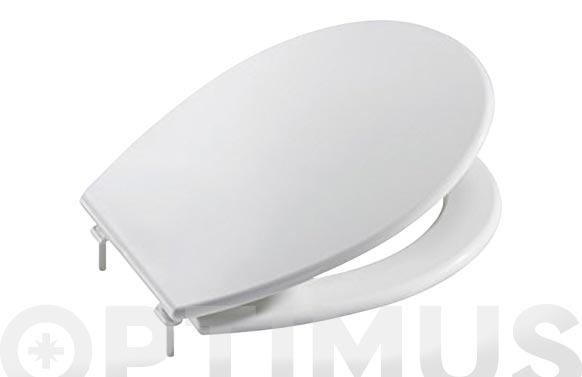 Tapa wc victoria blanca bisagra plastico