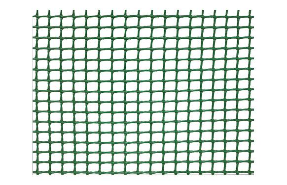 Malla cuadranet (malla 10x10mm) 300gr/m2 1 x 5 m verde