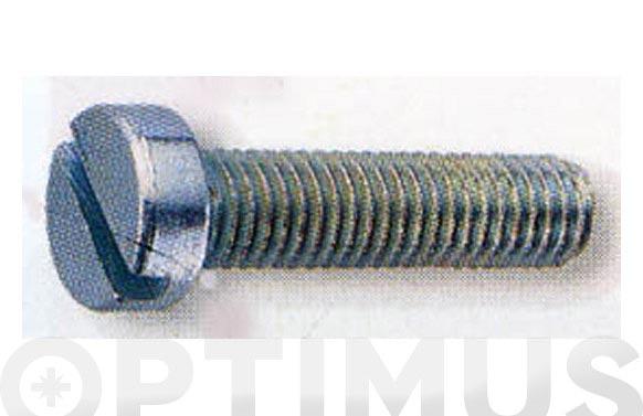 Tornillo din 84 cabeza cilindrica cincado m-4 x 12