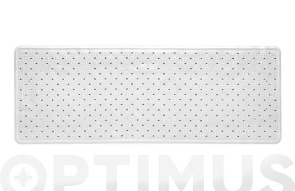 Alfombra baño blanco 97 x 36 cm