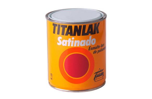 Esmalte satinado titanlak 1400 125 ml blanco