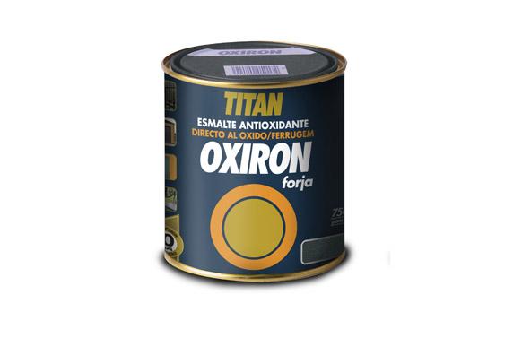 Esmalte forja oxiron 202 750 ml gris acero