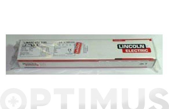 Electrodo inox limarosta 316l 2.5x350/125u.