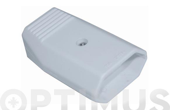 Base movil 10 a (blister) blanco 250v