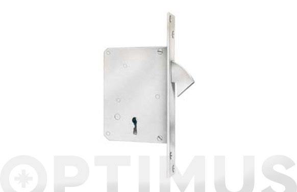 Cerradura puerta corredera 105-50 mm laton