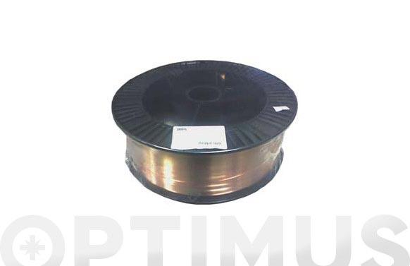Hilo soldar macizo aws er70s-6 (bobina 16 kg) 0.8 mm