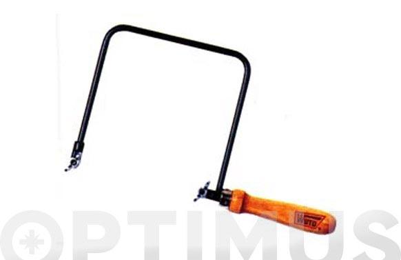 Arco de sierra de marqueteria 160 x 150 mm