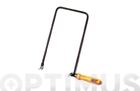 Arco de sierra de marqueteria 130 x 260 mm